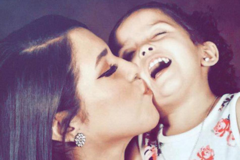 Ein Bild aus glücklichen Tagen: Saundra Gonzales mit ihrer Tochter Faviola.