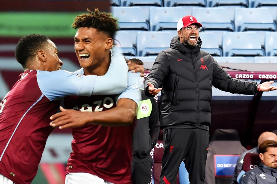 Abgewatscht! Liverpool und Jürgen Klopp kassieren bei Aston Villa derbe Klatsche