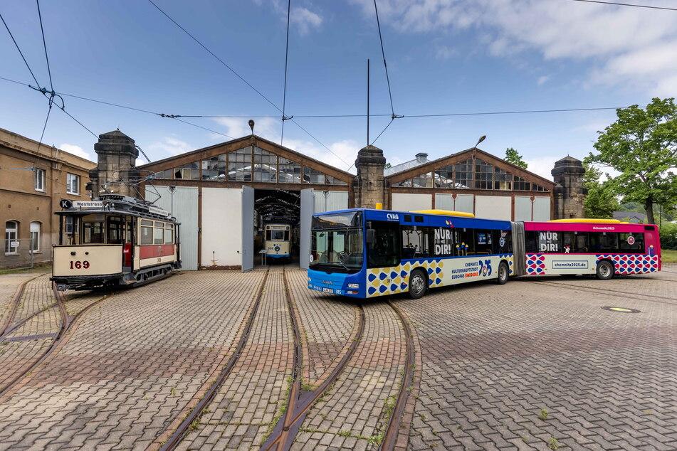 Das Straßenbahnmuseum soll 2025 ein Austragungsort der Kulturhauptstadt sein.