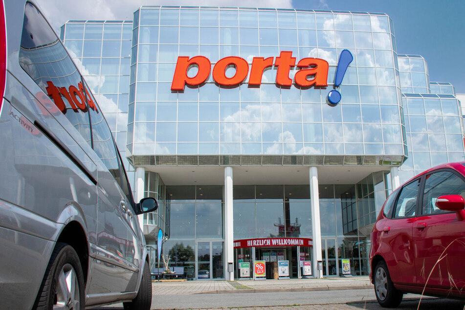 porta gibt am Samstag (10.4.) hohe Rabatte auf alles