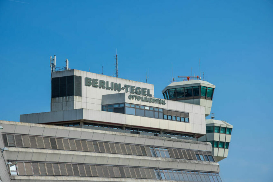 Der Flughafen Tegel in Berlin