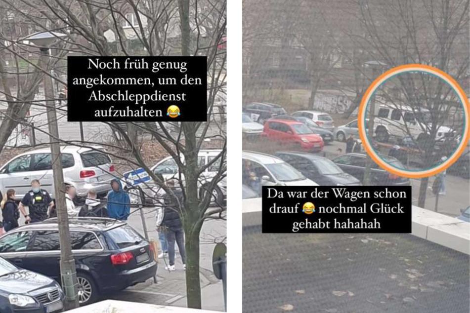"""Das Auto von YouTuberin """"Dagi Bee"""" (26) wäre am Wochenende beinahe abgeschleppt worden. Bei Instagram schilderte die 26-Jährige die kuriose Geschichte."""