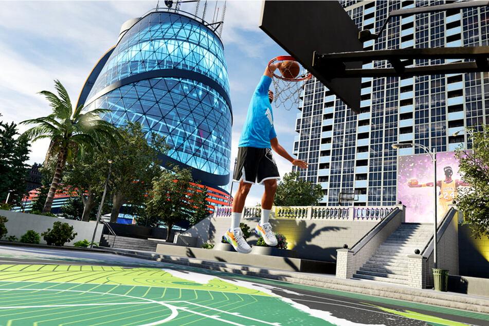Die grafische Aufarbeitung von NBA 2K22 auf den Next-Gen-Konsolen ist allererste Sahne und setzt neue Maßstäbe für Sportspiele.