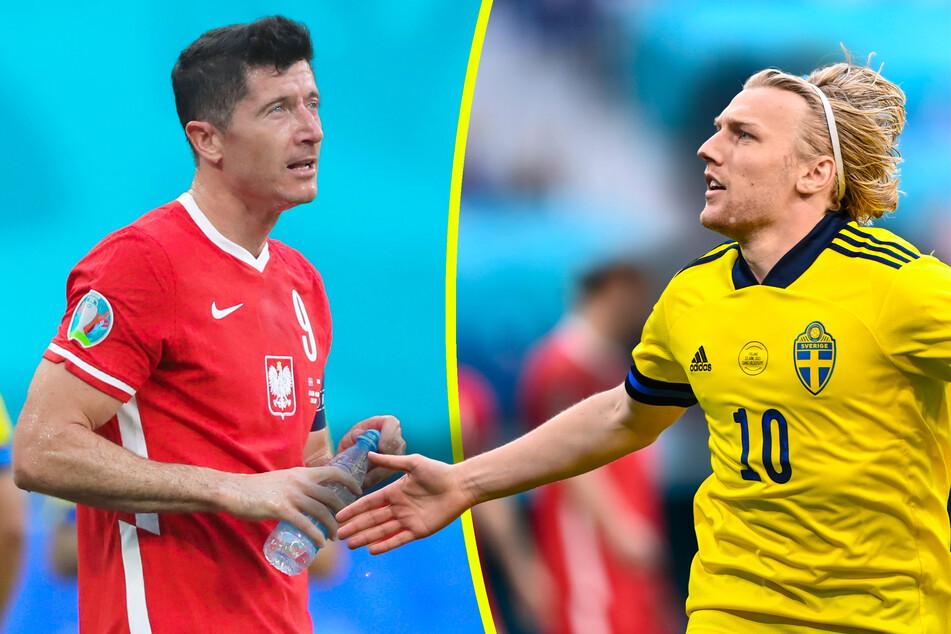 Forsberg schlägt Lewandowski! Schweden dank Mini-Rekord Gruppensieger, Polen raus
