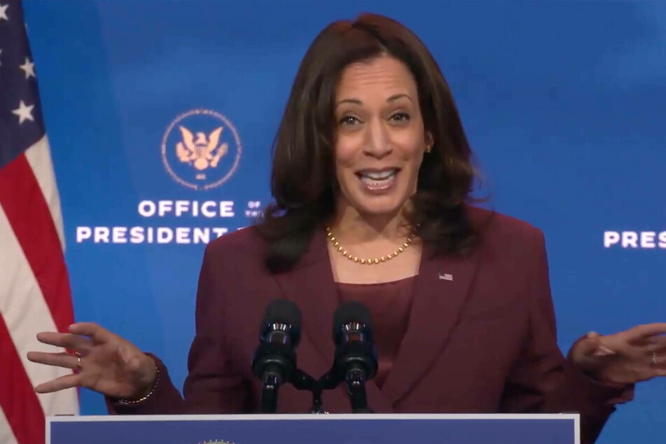 "Kamala Harris's team said that they were ""blindsided"" by a last-minute change of the cover photo."