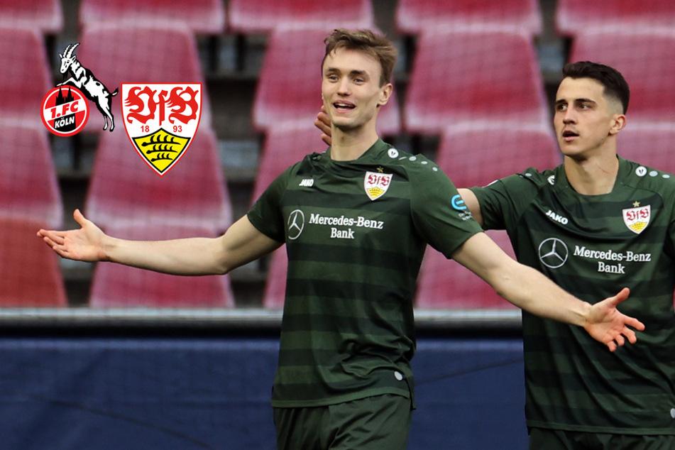 VfB-Befreiungsschlag! Stuttgart setzt sich dank Kalajdzic beim 1. FC Köln durch