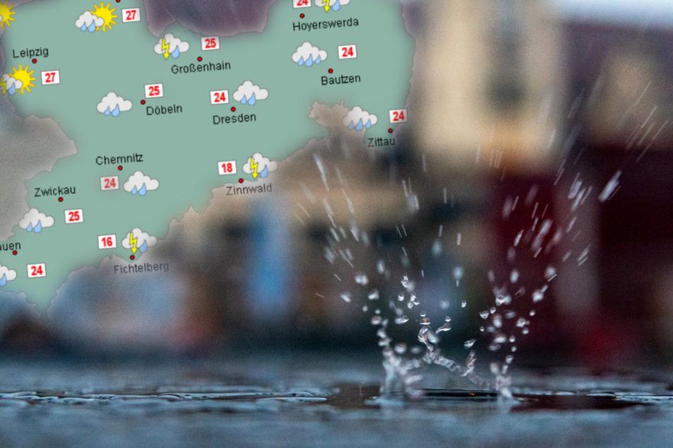 Was für ein Juli! Erst Starkregen in Sachsen, dann Wetterumschwung ab Sonntag