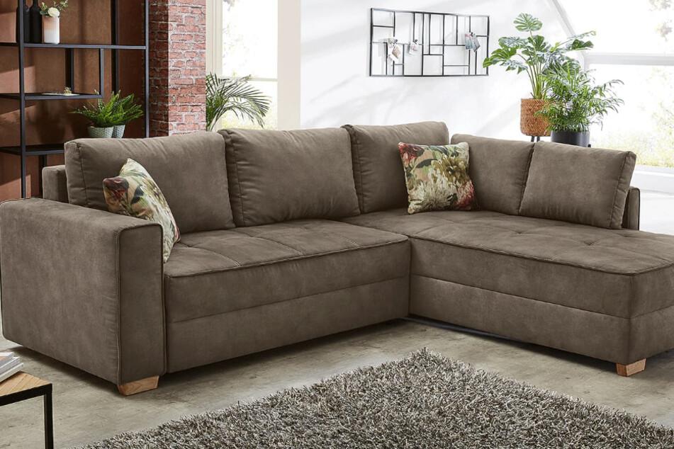 Hier gibts diese schöne Couch gerade 50% günstiger