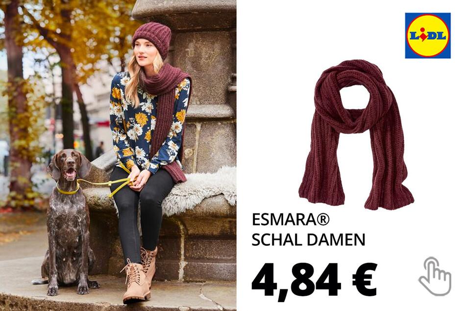ESMARA® Damen Winteraccessoires Schal