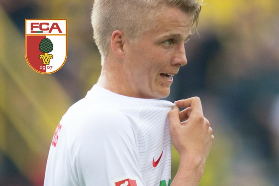 Positiver Corona-Test bei Augsburgs Fußball-Profi Felix Götze