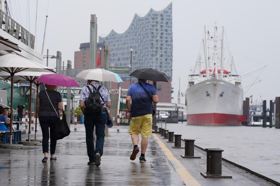 Der Dienstag wird laut Vorhersage wolkig und besonders gegen Nachmittag und Abend erneut regnerisch und gewittrig. (Symbolbild)