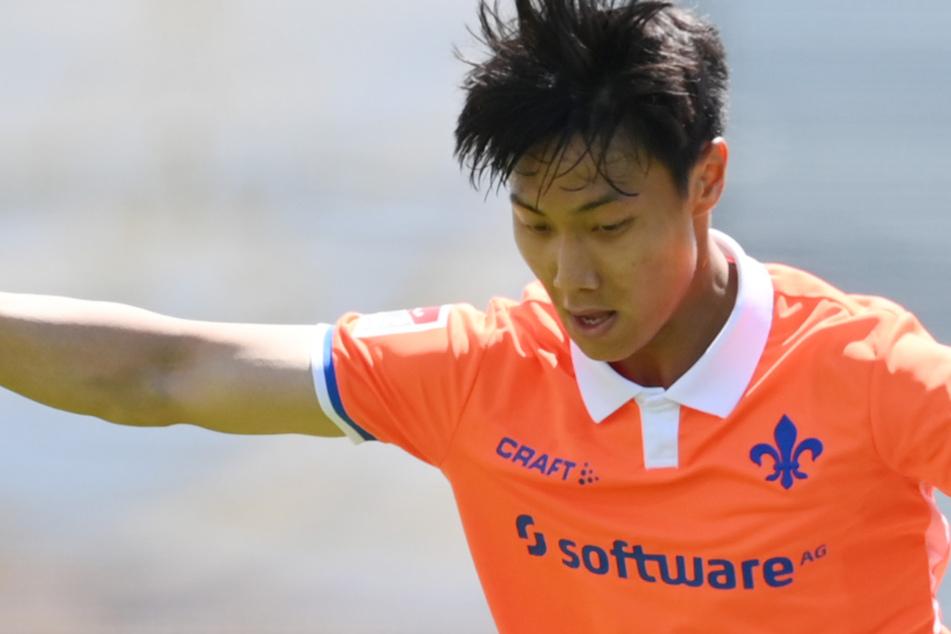 Paik Seung-ho (23) vom SV Darmstadt 98 steht kurz vor einem Wechsel nach Südkorea.