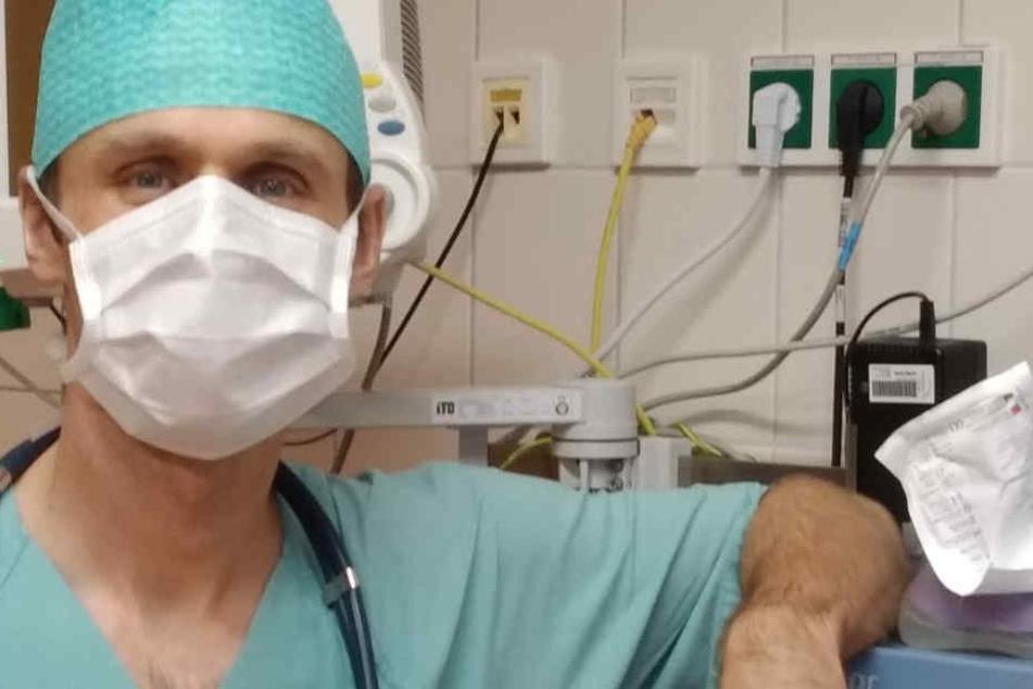 Der Tscheche Otakar Kohl (40) arbeitet als Anästhesist und Notarzt in Sachsen.