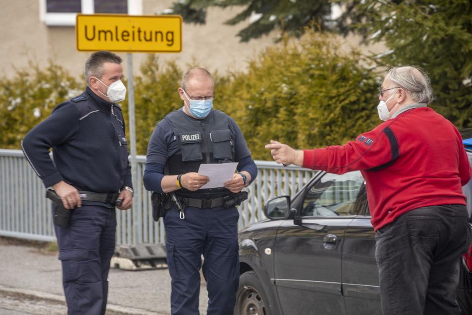Chemnitz: Weniger Kontrollen: Bundespolizei warnt vor Grenzübertritt