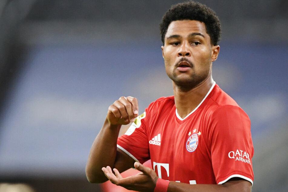 Der FC Bayern München muss vorerst auf Serge Gnarby (25) verzichten. (Archiv)