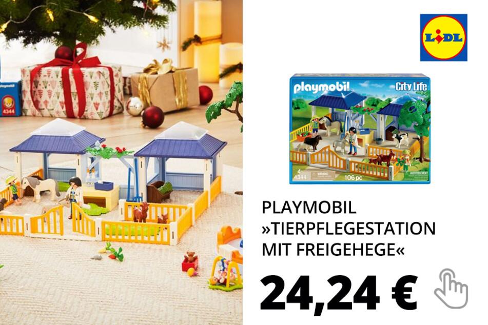 Playmobil »Tierpflegestation mit Freigehege«