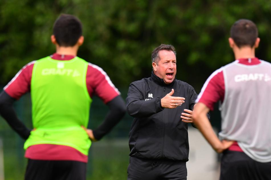 Dynamo-Coach Markus Kauczinski nimmt seine Spieler mit in die Verantwortung, sie sollen sich mit der Situation auseinander setzen.