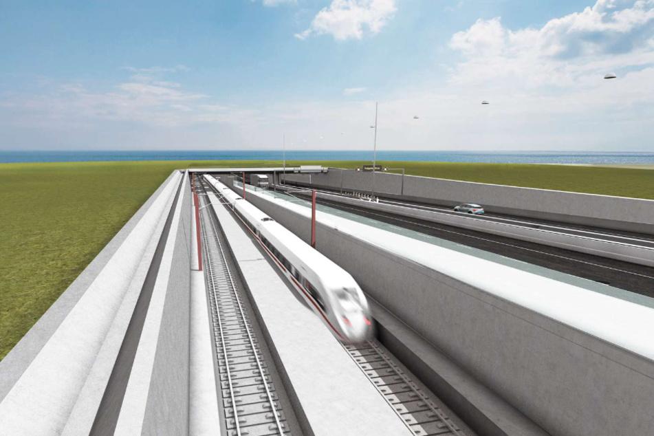 Tunnel unter der Ostsee: Das ist der aktuelle Stand des Milliarden-Projekts