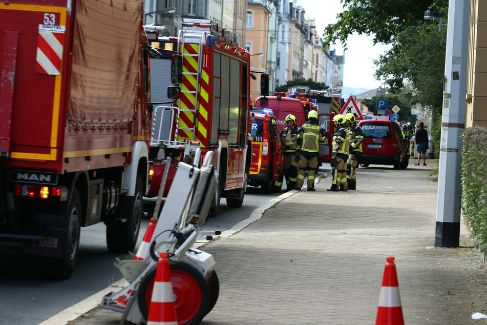 Gas-Alarm in Gera! Leitung bei Bauarbeiten beschädigt