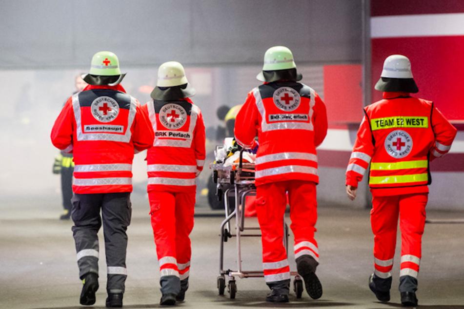 Bei der großen Rettungsübung in München werden auch zahlreiche ehrenamtliche Kräfte beteiligt sein. (Symbolbild)