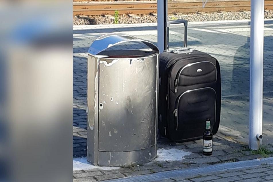Strecke gesperrt: Herrenloser Koffer legt Sachsen-Franken-Magistrale lahm