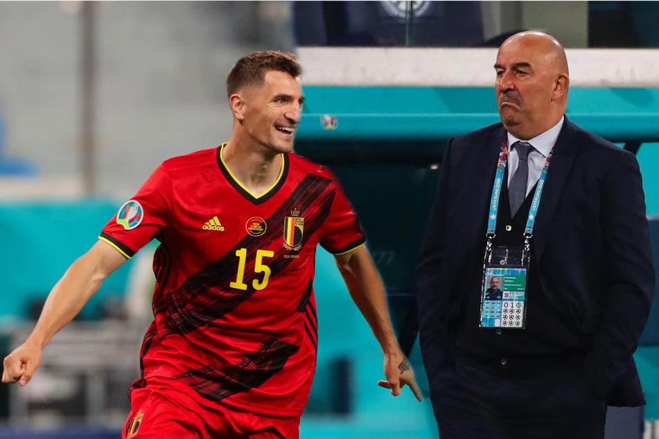 Ex-Dynamo Tschertschessow kassiert mit Russland klare Auftaktpleite gegen Mitfavorit Belgien!