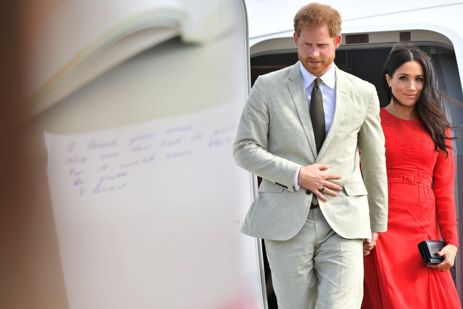 Prince Harry and Meghan Markle call for action after Taliban takeover and Haiti quake