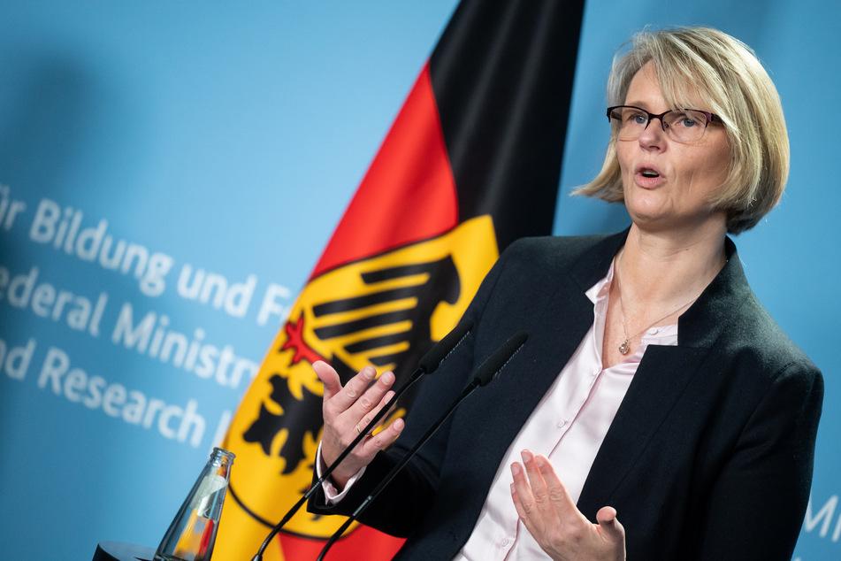Bundesforschungsministerin Anja Karliczek (49, CDU).
