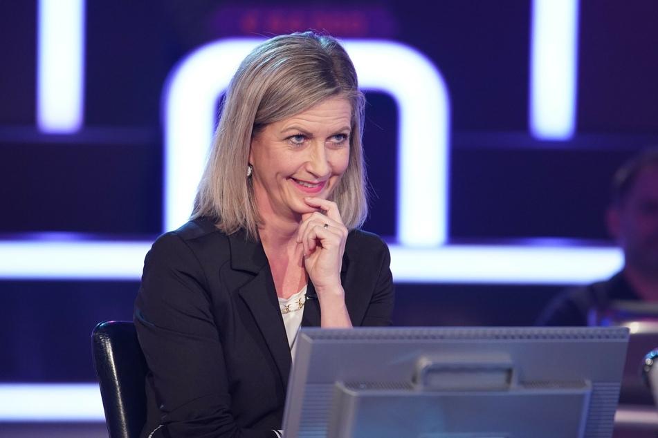 """Bei """"Wer wird Millionär"""" hätte sich Kandidatin Christine Schorer beinahe ziemlich blamiert: Fast wäre die Mental Coachin an der 200-Euro-Frage gescheitert."""