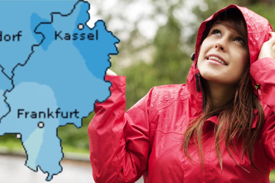 Auch der Dienst Wetteronline.de (Grafik) sagt für den Samstag in Hessen ein erhöhtes Niederschlagsrisiko voraus.