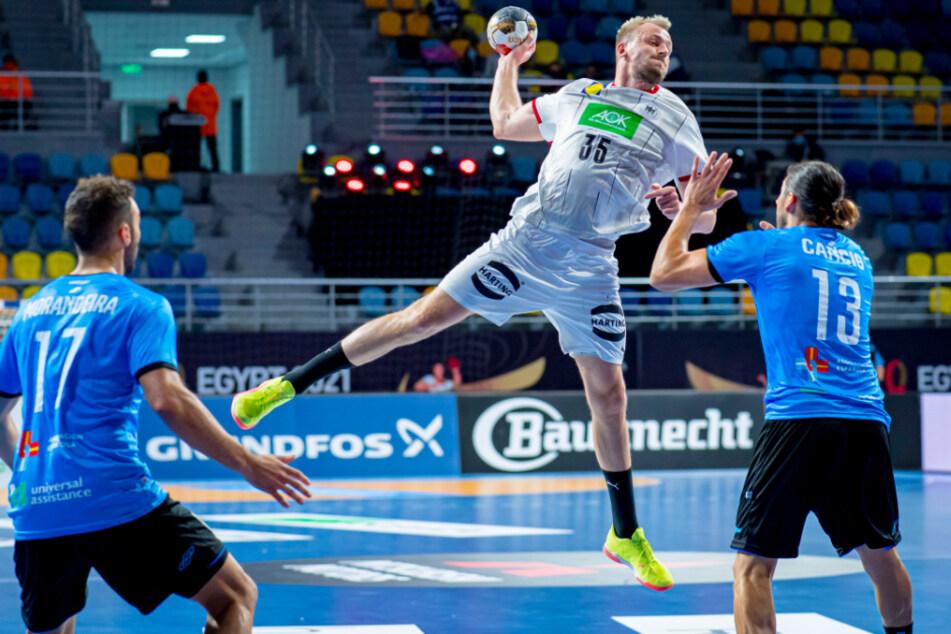 Schützenfest zum WM-Auftakt: Deutsche Handballer starten mit Kantersieg