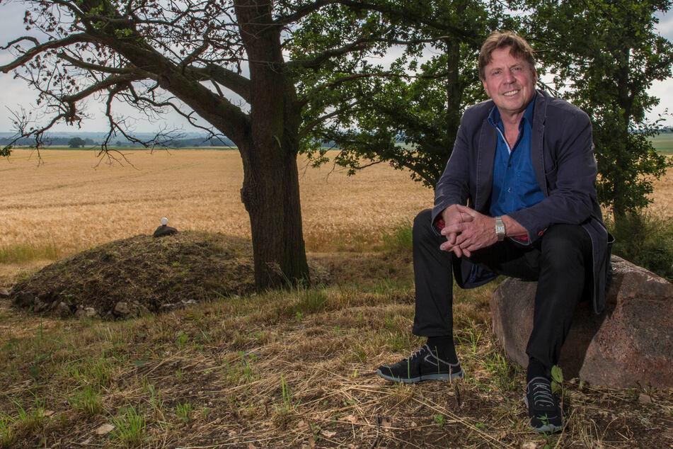 Norbert Sauer (54) will den Archäologiepark mit seinem Verein zur Attraktion machen.