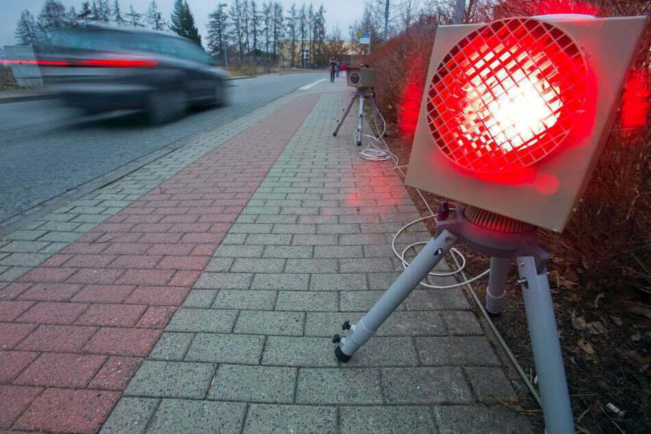 Fuß vom Gas! Hier stehen vom 30. November bis 4. Dezember Blitzer in und um Chemnitz