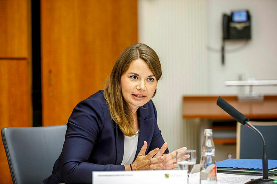 Spricht für die Generalstaatsanwaltschaft: Staatsanwältin Nicole Geisler.