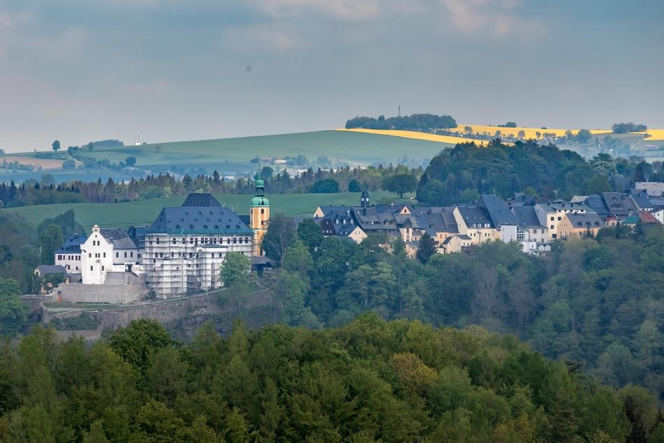 Wolkenstein ist eine Perle des Erzgebirges. Derzeit wird das Schloss restauriert.