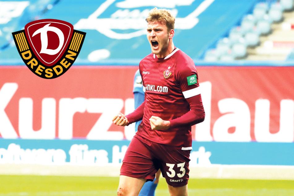 """Daferner ist Dynamos Mann für die wichtigen Tore und Vorlagen: """"Ein richtig geiles Gefühl!"""""""