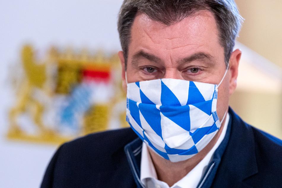 Bayerns Ministerpräsident Markus Söder (53, CSU) warnt, dass ein zweiter Lockdown immer näher rückt.