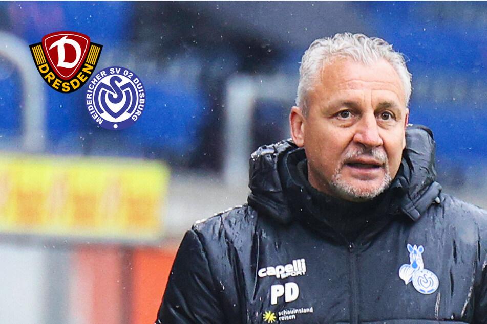 Dynamo gegen MSV Duisburg: Pavel Dotchev schmeckt der Trainerwechsel nicht!