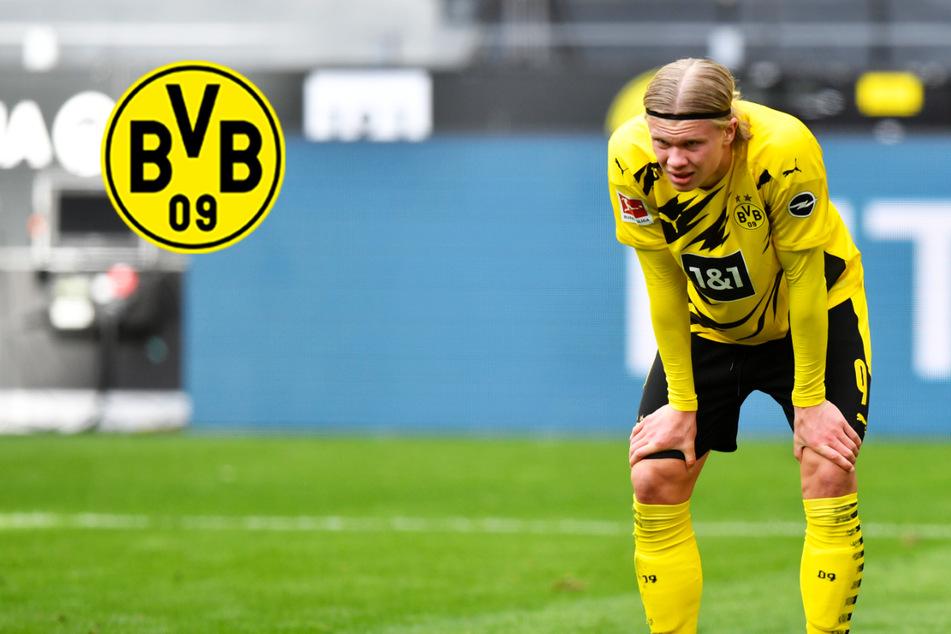 BVB-Sturmbulle Erling Haaland seit sechs Spielen ohne Tor! Transfergerüchte als Störfeuer?