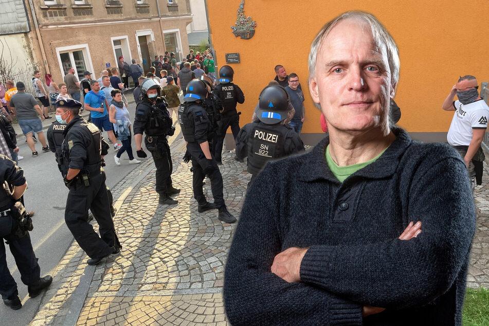 Chemnitz: Grünen-Stadtrat streitet mit Rechtsextremisten vor Gericht