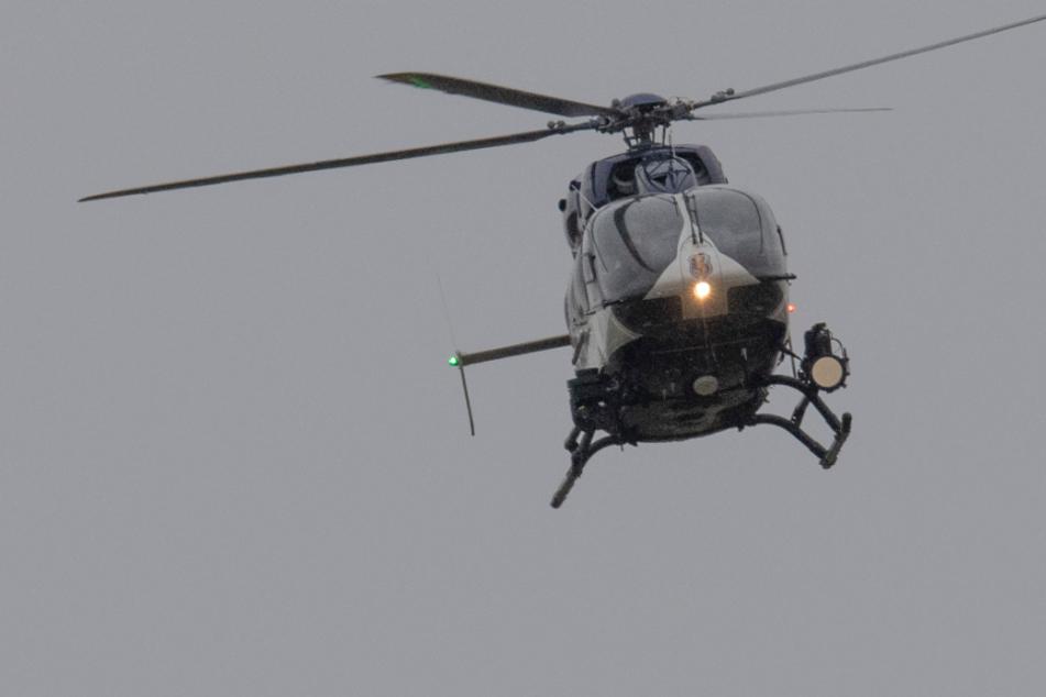 München: Bundespolizei sucht mit Hubschrauber nach Graffiti-Sprayern