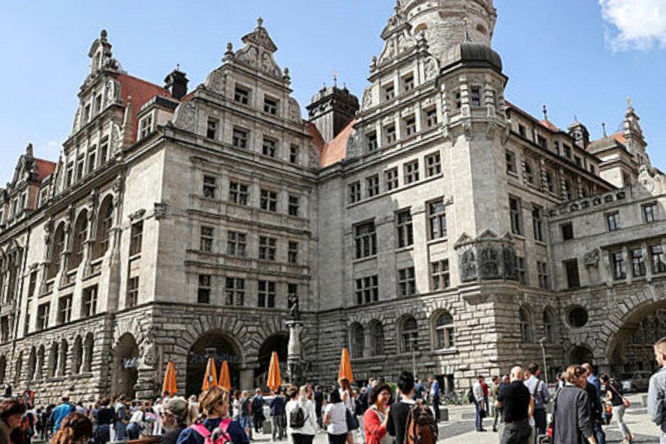 Der Ratskeller genießt in der Leipziger Innenstadt eine Top-Lage: Er befindet sich im Neuen Rathaus.
