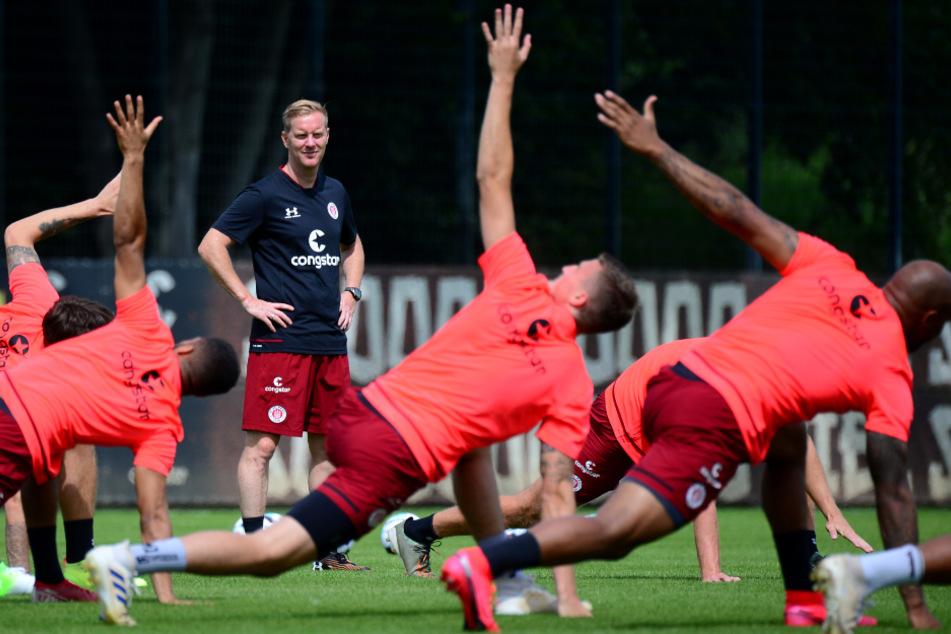 Der FC St. Pauli macht sich fit für die neue Saison.