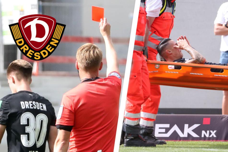 Rabenschwarzer Tag für Dynamo: Dritte Niederlage in Folge und Vlachodimos verletzt