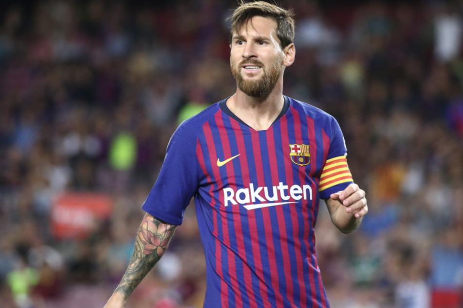 Lionel Messi (33) will den FC Bayern München mit allen Mitteln aufhalten.