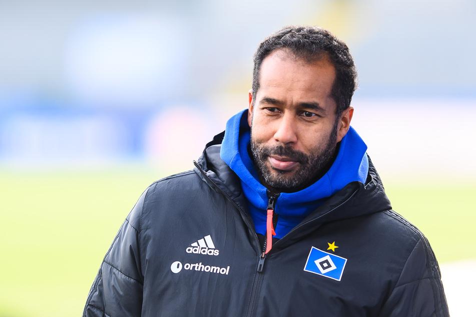 HSV-Trainer Daniel Thioune (46) hat ein großes Ziel: 1. Bundesliga. (Archivfoto)