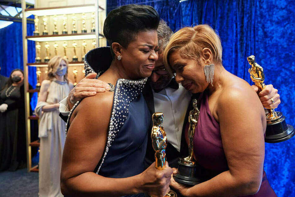 """""""It's Black history, it's American history"""": Stylists give stirring Oscars speech after historic win"""