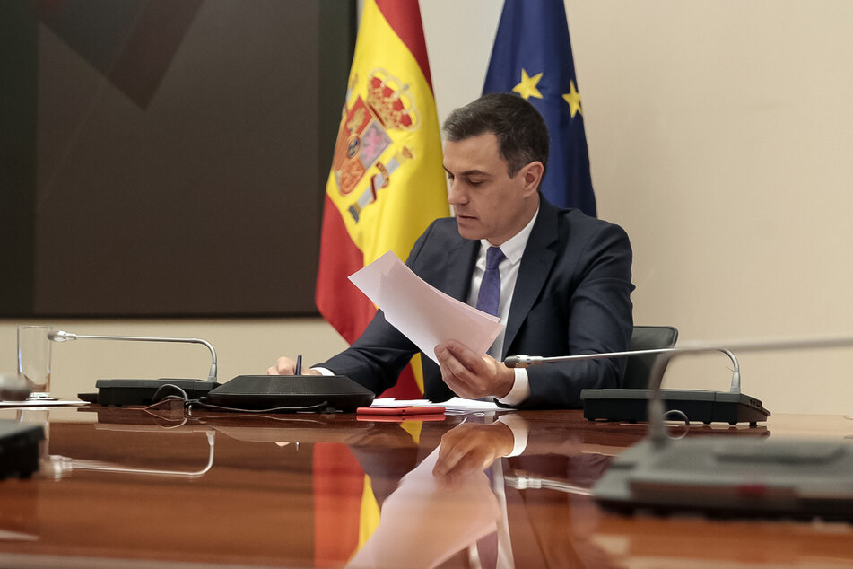 Spaniens Ministerpräsident Pedro Sánchez (48). (Archivbild)