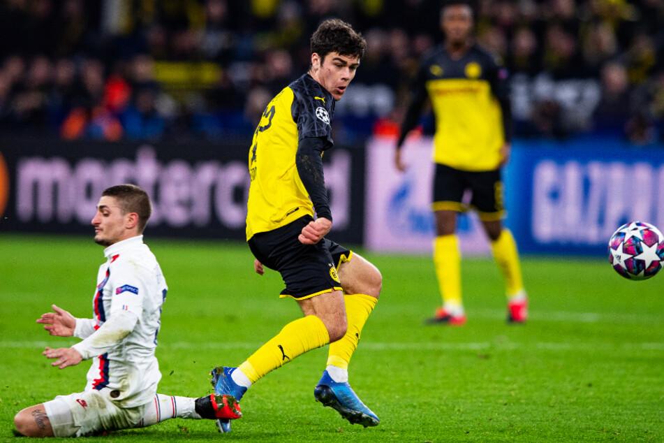 Youngster Giovanni Reyna (vorne-rechts) könnte für den BVB gegen Mainz sein Startelfdebüt geben. (Archivbild)