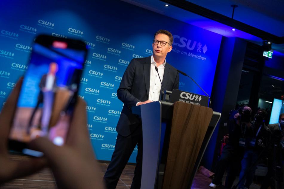 Generalsekretär Markus Blume (46) spricht von großen Erwartungen, die das Volk in CSU hätte.